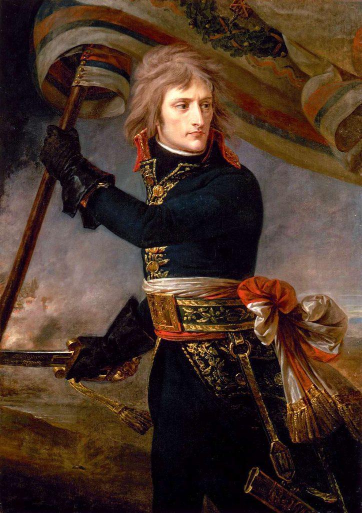 Napóleon az arcolei hídon