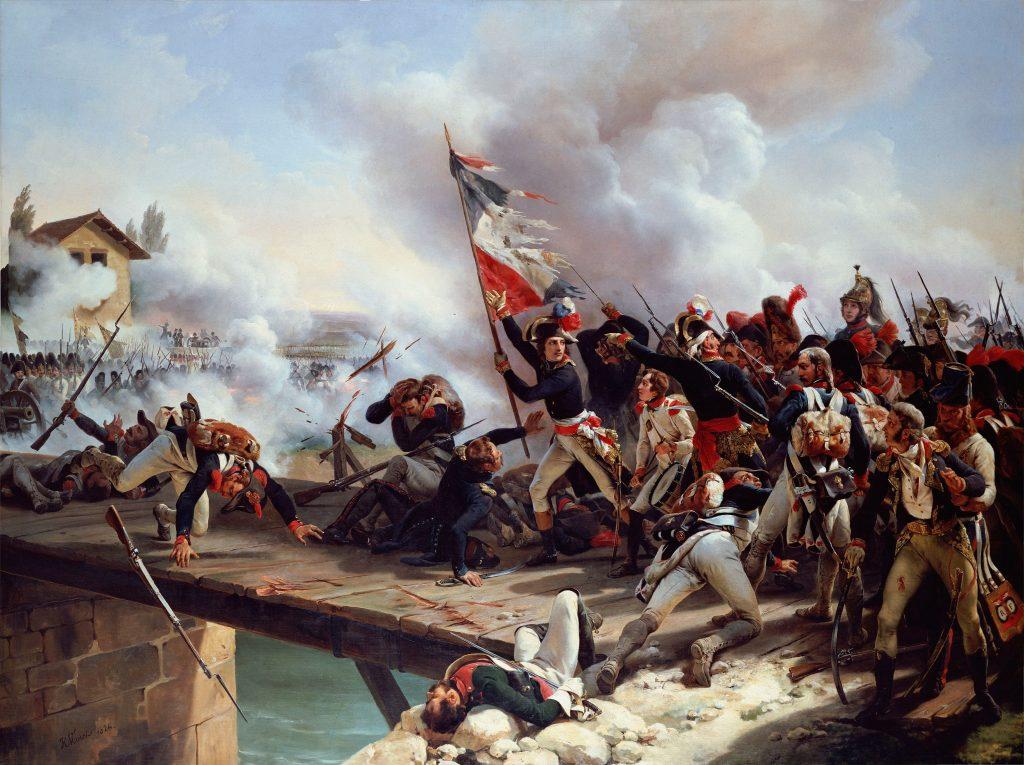 Napóleon az arcolai hídon